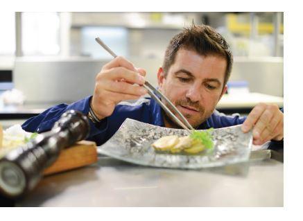 Maison Larnaudie, nouvelle recette de foie gras avec le chef étoilé Éric Guérin