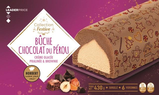 4HD-Bûche chocolat du Pérou-pralinée-brownie