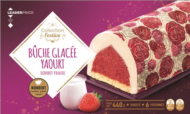 4HD-Buche yaourt fraise