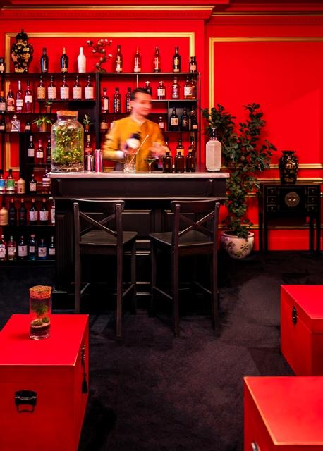 Le Shangri La H U00f4tel  Paris Ouvre Son Bar  Le S U00d3ng  U2013 Ce Que
