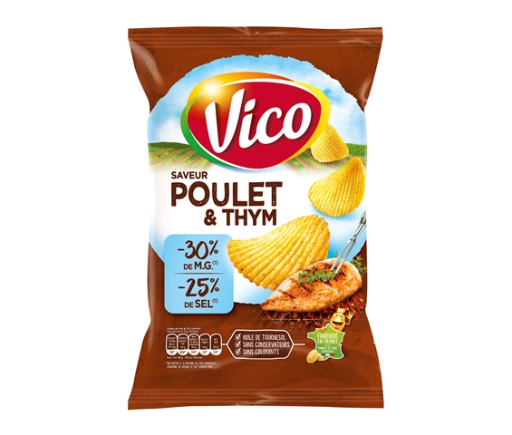 vicopouletthymlight120g