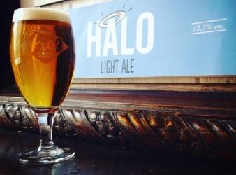 Chez FROG La HALO LIGHT ALE une bière légère mais savoureuse