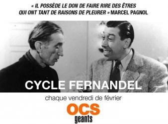 Cycle Fernandel sur OCS Géants tous les vendredi de février