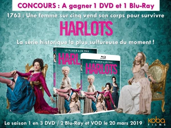 [DVD Test] Harlots, une série sulfureuse sur la condition des femmes au XVIIIème siècle – en DVD et Blu-ray le 20 mars